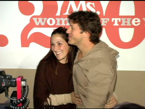 ricki lake and apollo yiamouyiannis at the ms magazine 2004 women of the year arrivals at spider club in los angeles, california on november 29, 2004. - house spider stock videos & royalty-free footage