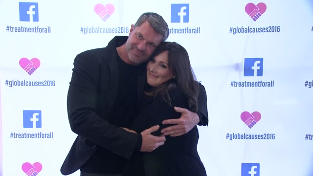 ricki lake and dewayne jones at ricki lake and friends team up with pepfar to launch #treatmentforall on facebook a social campaign to support... - retrovirus stock videos and b-roll footage