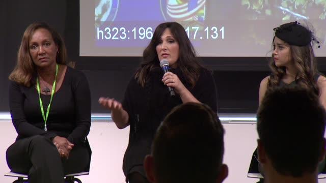 ricki lake at ricki lake and friends team up with pepfar to launch #treatmentforall on facebook a social campaign to support treatment expansion and... - retrovirus stock videos and b-roll footage