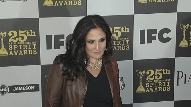 ricki lake at the 2010 film independent's spirit awards - arrivals at los angeles ca. - independent feature project stock videos & royalty-free footage