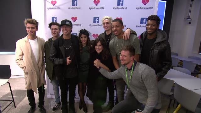 ricki lake wesley stromberg sammy wilkinson megan nicole melvin gregg and guests at ricki lake and friends team up with pepfar to launch... - retrovirus stock videos and b-roll footage