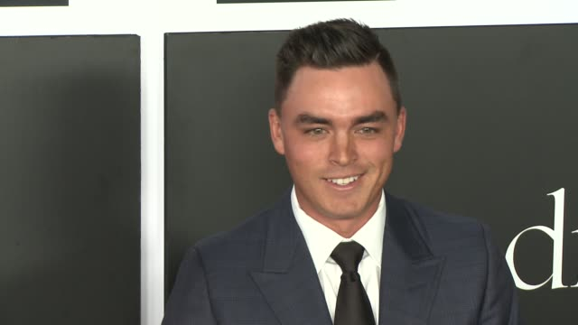 Rickie Fowler at the 2nd Annual Diamond Ball at Barker Hangar on December 10 2015 in Santa Monica California