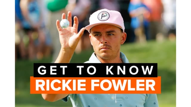 vídeos de stock e filmes b-roll de rickie fowler is a pga tour golfer from the united states. get to know the oklahoma state university alum who is one of the world's best golfers. - campeonato desportivo