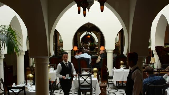 rick's cafe casablanca morocco - humphrey bogart stock videos & royalty-free footage