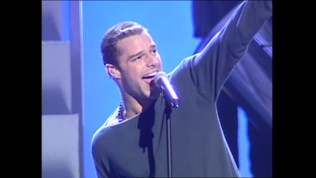 Ricky Martin Grammys Rehearsal