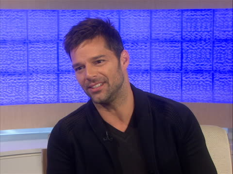 ricky martin speaks of when his mother asked him if he was in love, he said yes, and then asked if he was in love with a man, and he said yes and her... - meredith vieira stock videos & royalty-free footage