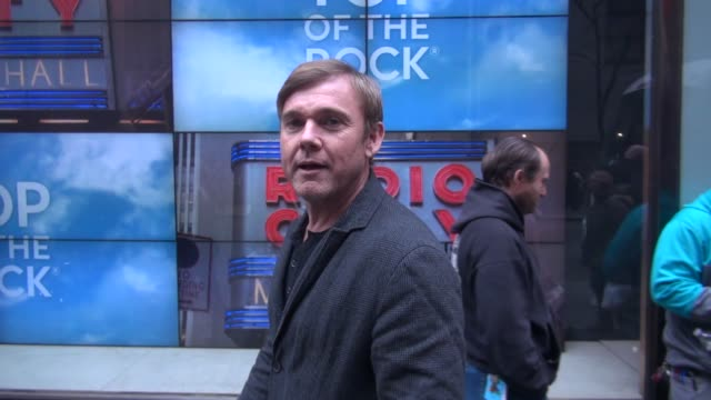 ricky schroder at nbc studios, talks about the movie on december 09, 2015 in new york city. - リック シュローダー点の映像素材/bロール