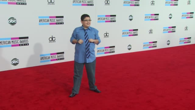rico rodriguez at the 2010 american music awards arrivals at los angeles ca - american music awards stock videos and b-roll footage