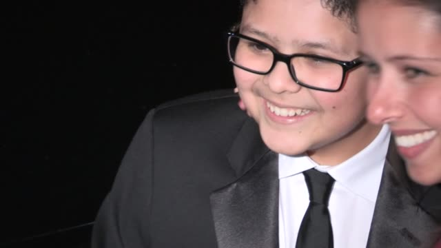 rico rodriguez at the 2013 screen actors guild awards after party at the shrine auditorium rico rodriguez at the 2013 screen actors guild awa on... - shrine auditorium stock videos & royalty-free footage