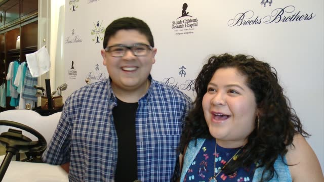 NTERVIEW Rico Rodriguez Raini Rodriguez on why they wanted to support Brooks Brothers St Judes at Brooks Brothers Hosts MINI CLASSIC Golf Tournament...