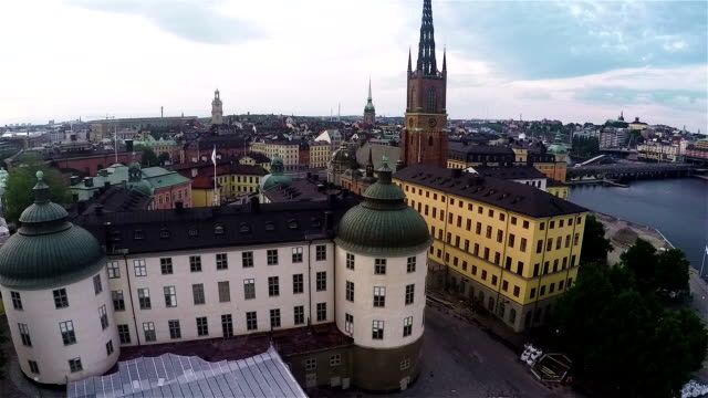 Riddarholmen Sweden Aerial