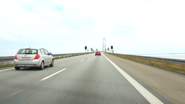 Ride across the Oresund Bridge