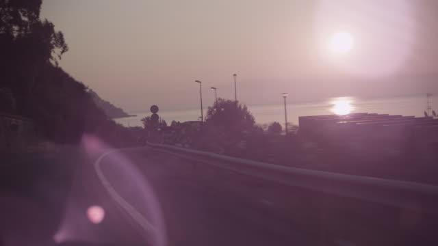 Ride along the Sicilian coast