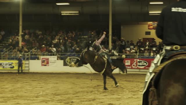 ride 'em cowboy - bucking stock videos & royalty-free footage