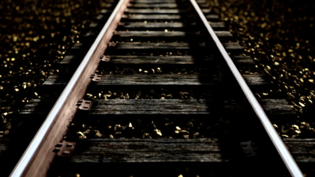 ride over railroad track. - railroad track stock videos & royalty-free footage