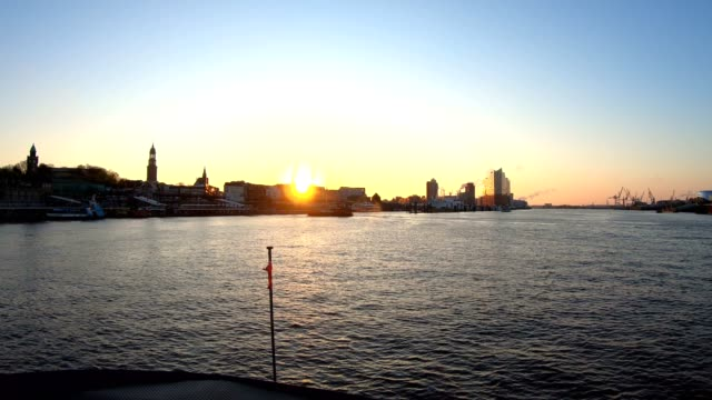 ride with the harbour ferries in the city of hamburg - hamburg germany stock videos & royalty-free footage