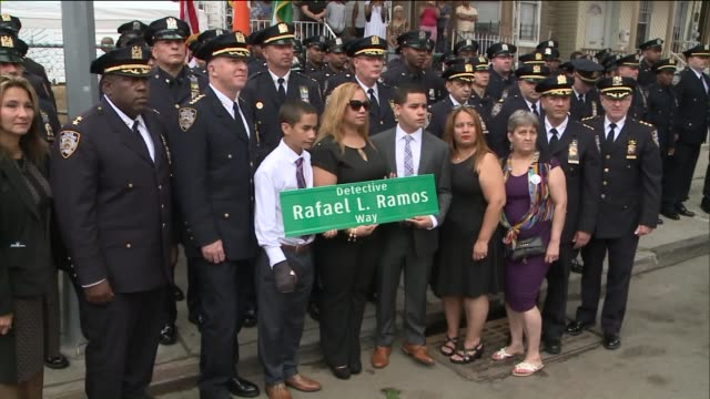 Ridgewood Avenue between Shepherd Avenue and Highland Place is now known as Detective Rafael L Ramos Way