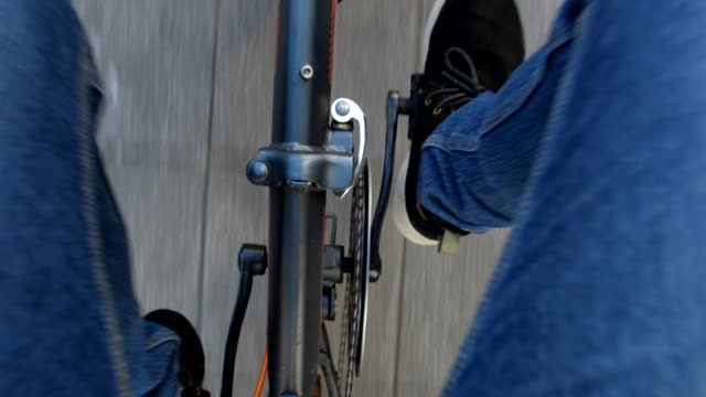 riding a bicycle - pedal stock videos & royalty-free footage