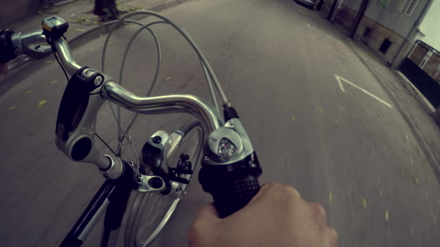 riding a bike - gearshift stock videos & royalty-free footage