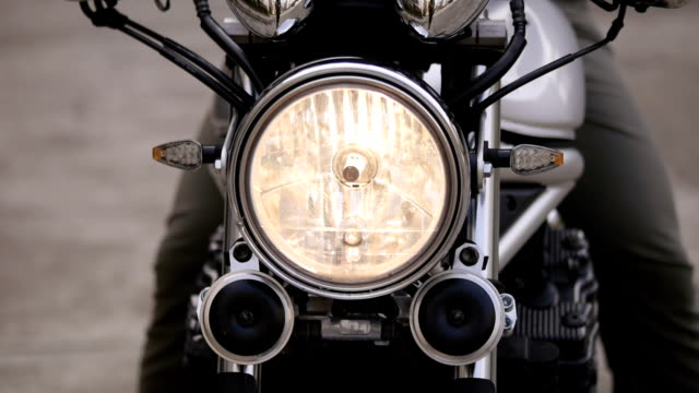 riding a motorcycle. - headlight stock videos & royalty-free footage