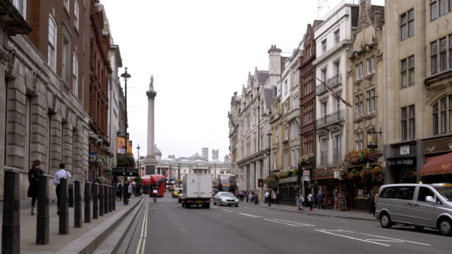 riding bicycle in london whitehall - van stock videos & royalty-free footage