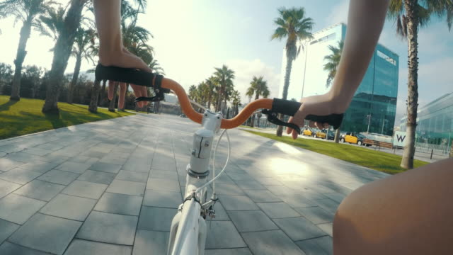 Riding in Barcelona