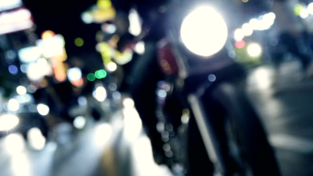 riding in the city - helmet motorcycle stock videos and b-roll footage