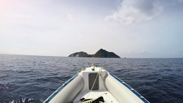 riding inflatable boat rib - rib food stock videos and b-roll footage