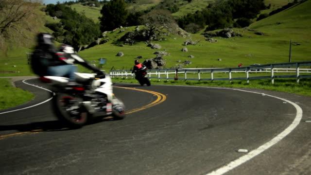 Riding Motorcycles Through Farm Country