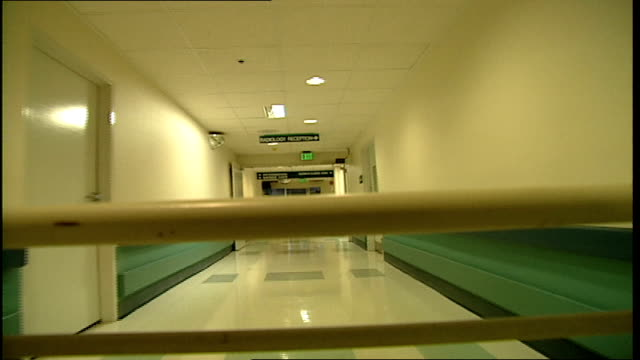 pov of riding on gurney through hospital halls in tampa florida - hospital gurney stock videos and b-roll footage