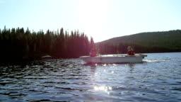 Riding the Lake