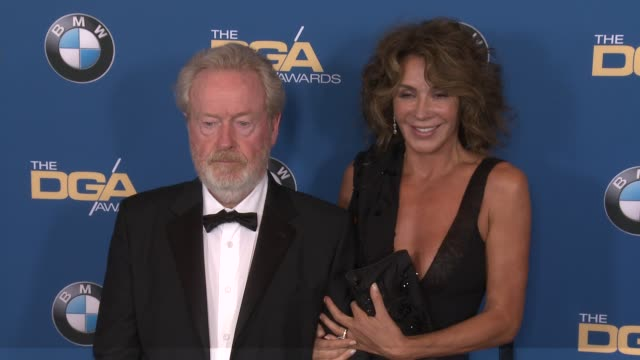 ridley scott at 69th annual directors guild of america awards in los angeles ca - directors guild of america awards stock videos & royalty-free footage