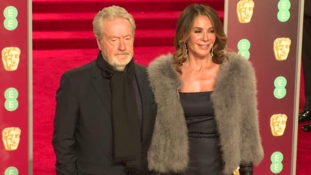 Ridley Scott at Royal Albert Hall on February 18 2018 in London England
