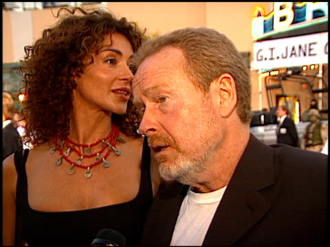 Ridley Scott at the 'GI Jane' Premiere at the Mann Village Theatre in Westwood California on August 6 1997