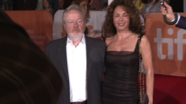 Ridley Scott at The Martian Premiere 2015 Toronto International Film Festival at Roy Thomson Hall on September 11 2015 in Toronto Canada