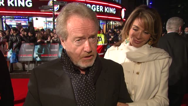 ridley scott on treating the subject matter of the film with sensitivity bearing in mind the subject matter.; on how the king of morocco read the... - biggest stock videos & royalty-free footage