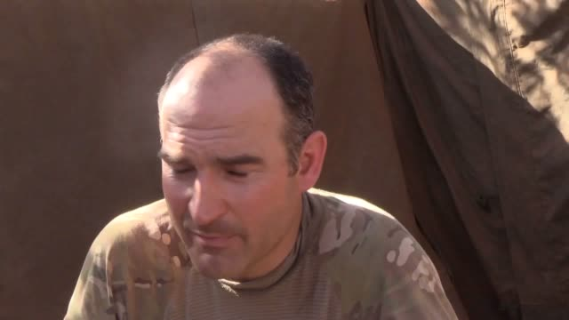 rifles commanding officer sam cates talks about the battalion's training exercise in kenya. the battalion which is based at thiepval barracks in... - northern ireland stock videos & royalty-free footage