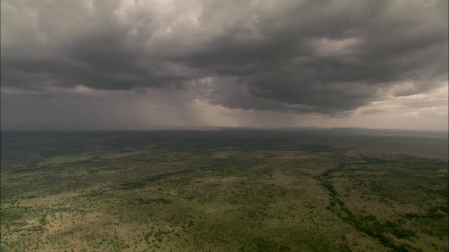 rift valley landscape with fog - storm cloud stock videos & royalty-free footage