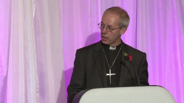 right reverend justin welby was named friday the next archbishop of canterbury the leader of the world's anglicans. clean : new anglican leader backs... - archbishop of canterbury stock videos & royalty-free footage