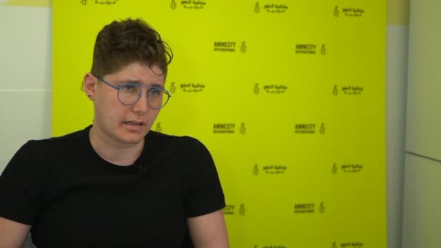 rights groups including amnesty international urge the international community to pressure all sides in syria's war to reveal the fate of tens of... - amnesty international stock videos & royalty-free footage