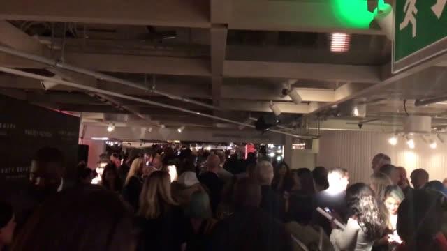 Rihanna arrives at the Fenty Beauty by Rihanna launch party at Harvey Nichols Knightsbridge London