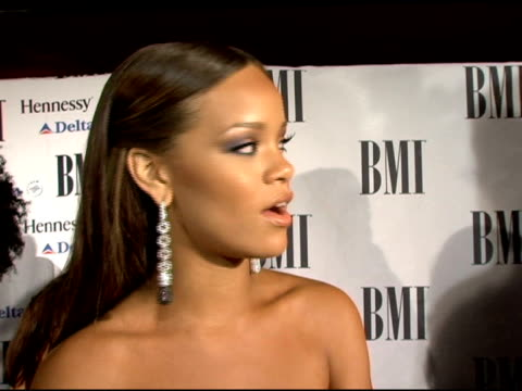 Rihanna at the BMI Urban Awards at Roseland Ballroom in New York New York on August 30 2006