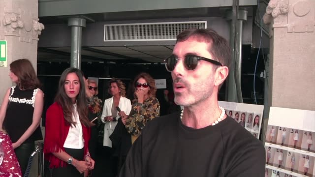 Rihanna or Amal Clooney Giambattista Valli gladly acknowledges his debt to both of them