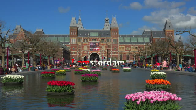 rijksmuseum, amsterdam, south holland, netherlands - amsterdam stock videos & royalty-free footage