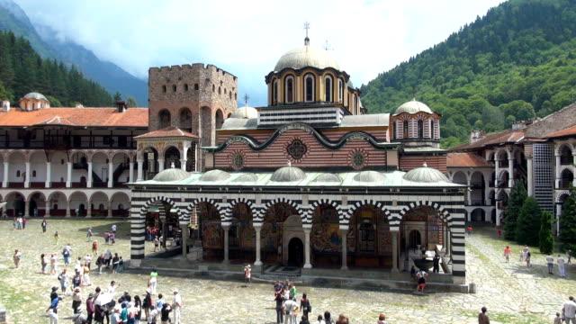 rila monastery - bulgaria - bulgaria stock videos & royalty-free footage