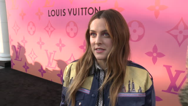 interview riley keough at louis vuitton x opening cocktail on june 27 2019 in beverly hills california - opening event stock videos & royalty-free footage