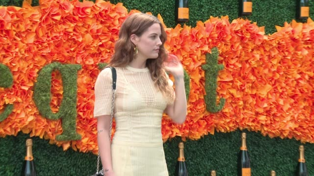 Riley Keough at NinthAnnual Veuve Clicquot Polo Classic at Liberty State Park on June 4 2016 in Jersey City New Jersey