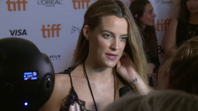 Riley Keough at Princess of Wales Theatre on September 12 2018 in Toronto Canada