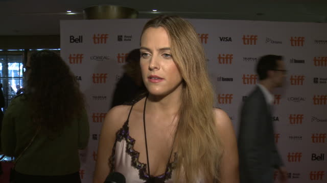 INTERVIEW Riley Keough on what stood out about this project talks about the challenges of filming working with the wolves and what audiences can...