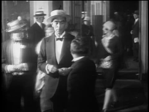 """ring lardner at opening nights of """"glorifying the american girl"""" in nyc - 1927 stock videos & royalty-free footage"""